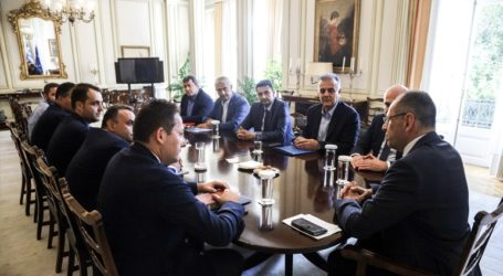 Ολοκληρώθηκε η δεύτερη σύσκεψη στο Μ. Μαξίμου για το θέμα της Σαμοθράκης