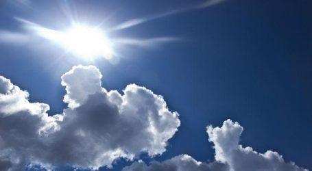 Καιρός: Ηλιοφάνεια με τοπικές νεφώσεις