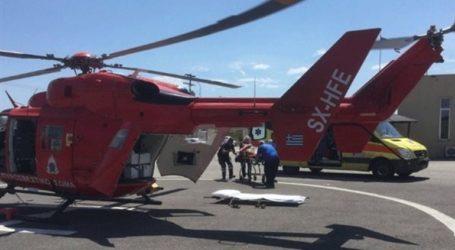 Αερομεταφορές για οκτώ ασθενείς σε νοσοκομεία πραγματοποίησε η Πολεμική Αεροπορία τη Δευτέρα