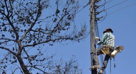 Εκτεταμένες οι ζημιές στο ηλεκτρικό δίκτυο του Πόρου