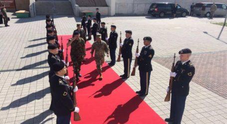 Επίσημη επίσκεψη του Αρχηγού ΓΕΣ στην έδρα των Στρατιωτικών Δυνάμεων των ΗΠΑ στην Ευρώπη
