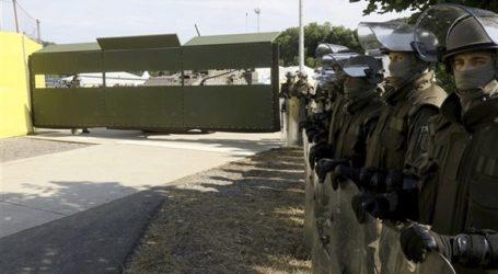 Κατασκευή νέου τμήματος φράχτη για αποτροπή διέλευσης μεταναστών