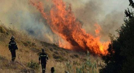 Υψηλός κίνδυνος πυρκαγιάς για αύριο Παρασκευή