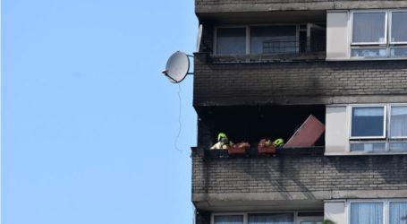 Έσβησε η πυρκαγιά που είχε ξεσπάσει σε κτήριο κοντά στον Πύργο Γκρένφελ