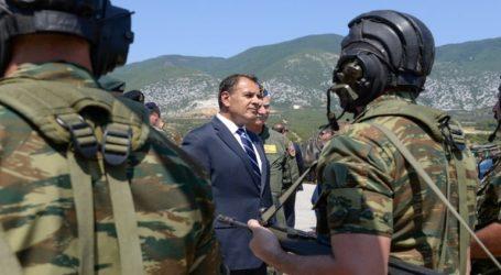 «Οι Ένοπλες Δυνάμεις διασφαλίζουν την ασφάλεια της χώρας απέναντι σε κάθε είδους απειλή»