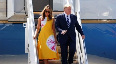 Ο Τραμπ έφθασε στη Γαλλία για να συμμετάσχει στη σύνοδο της Ομάδας των 7