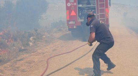 Πυρκαγιά και στη Σάμο
