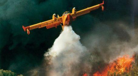 Πενήντα έξι δασικές πυρκαγιές εκδηλώθηκαν το τελευταίο 24ωρο σε όλη την Ελλάδα