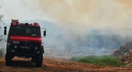 Πολύ υψηλός ο κίνδυνος πυρκαγιάς για αύριο Δευτέρα