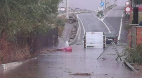 Μεγάλες πλημμύρες στην περιοχή της Μαδρίτης