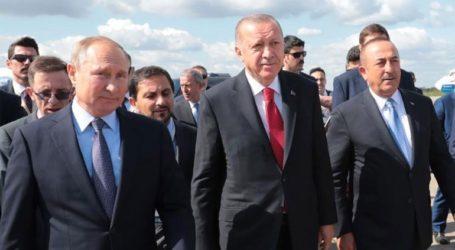 Πούτιν και Ερντογάν συζήτησαν για τη Συρία