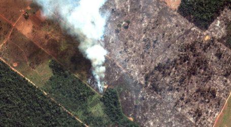 «Ναι» από τη Βραζιλία στην παροχή βοήθειας για τις φωτιές στον Αμαζόνιο