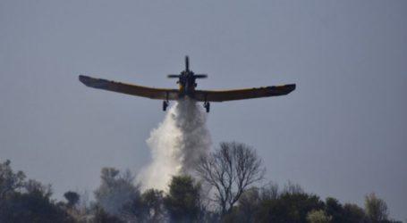Καίγονται δάση σε Δράμα, Ροδόπη και Λάρισα