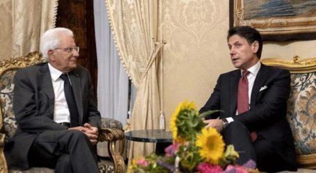 Στον πρόεδρο Ματαρέλα ο Τζουζέπε Κόντε το πρωί της Πέμπτης