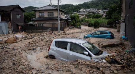 Δύο νεκροί από σφοδρές βροχοπτώσεις στην Ιαπωνία