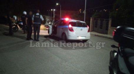 Κινηματογραφική καταδίωξη αυτοκινήτου στη Λαμία