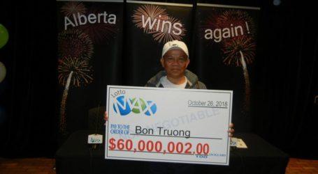 Αποφάσισε έπειτα από δέκα μήνες να εισπράξει τα 60 εκατ. δολάρια που κέρδισε στο Λόττο