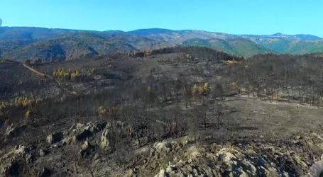 Το αποτύπωμα μιας τεράστιας καταστροφής μέσα από την κάμερα drone