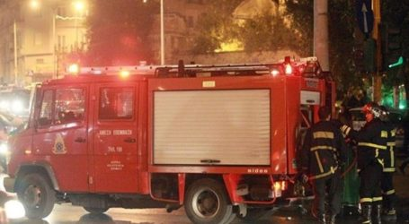 Φωτιά σε εγκαταλελειμμένο κτήριο στη λεωφόρο Κηφισίας