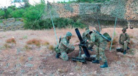 Στρατιωτική δραστηριότητα στο πεδίο βολής των Γλαφυρών Βόλου