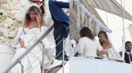 Παντρεύτηκαν η Heidi Klum και ο Tom Kaulitz πάνω στη θρυλική θαλαμηγό του Ωνάση!