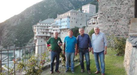 Το Άγιο Όρος επισκέφθηκε ο Γιώργος Μανώλης
