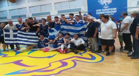 Βόλος: Προκρίθηκε στους «4» της Ευρώπης η Εθνική Μπάσκετ Εφήβων
