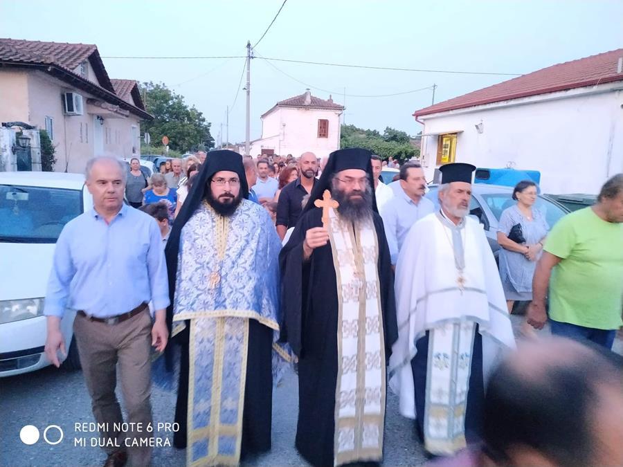 Στις λατρευτικές εκδηλώσεις για τη Μεταμόρφωση του Σωτήρος στην Κουλούρα ο Γ. Μανώλης