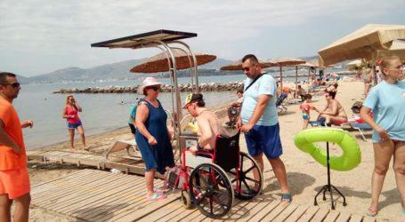 Βόλος: Στιγμές δροσιάς και χαλάρωσης για ΑΜΕΑ στην παραλία του Αναύρου [εικόνες]