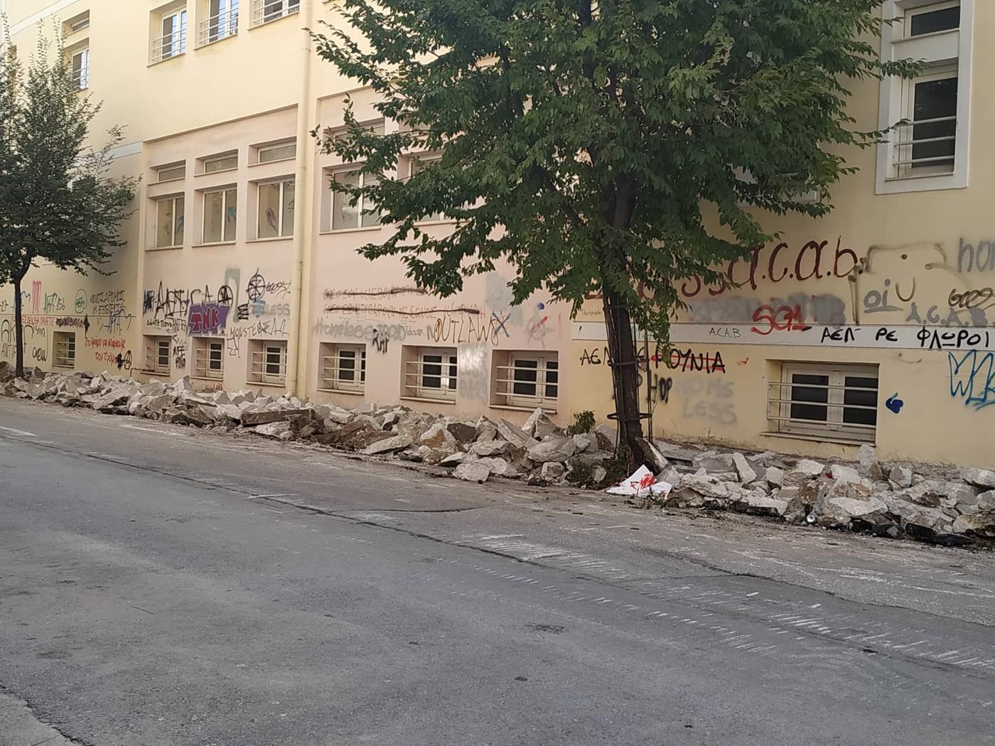 Μπήκαν... μπουλντόνζες στη συνοικία του Αγίου Κωνσταντίνου - Τι έργα προβλέπονται για την περιοχή (φωτό)
