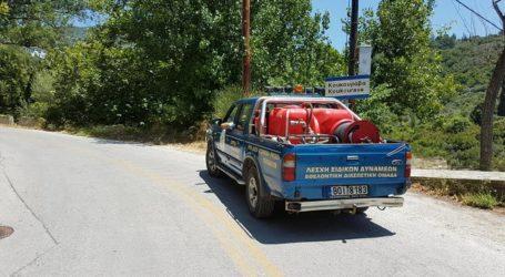 Σε ετοιμότητα οι εθελοντές για τον υψηλό κίνδυνο πυρκαγιάς στη Μαγνησία [εικόνα]