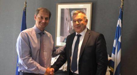 Συνάντηση Κ. Χαλέβα με τον Υπουργό Τουρισμού