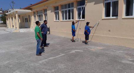 Συντηρούνται τα σχολεία στον Δήμο Ρήγα Φεραίου