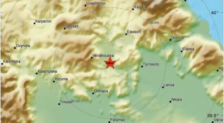 Σεισμός ξημερώματα Τρίτης στη Λάρισα