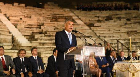 Λαμπρή τελετή ορκωμοσίας του Περιφερειακού Συμβουλίου Θεσσαλίας στο Αρχαίο Θέατρο Λάρισας
