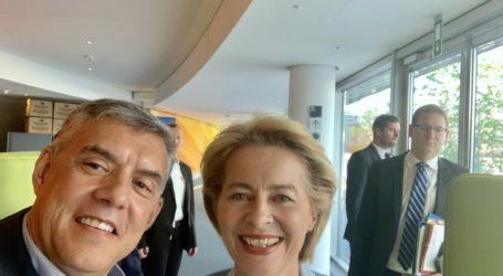 Συγχαρητήρια επιστολή του Κ. Αγοραστούστη νέα Πρόεδρο της Ευρωπαϊκής Επιτροπής Ούρσουλα φον ντερ Λάινεν