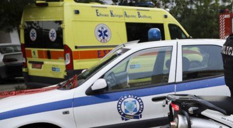 Τροχαίο ατύχημα στο κέντρο του Βόλου – Στο Νοσοκομείο μία γυναίκα