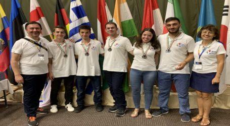 Δυο ασημένια και τρία χάλκινα μετάλλια για την Ελληνική Ομάδα στην 13η Διεθνή Ολυμπιάδα Αστρονομίας