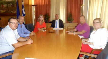 Συνάντηση Ζέττας Μακρή με τον Υπουργό Αγροτικής Ανάπτυξης κ. Μάκη Βορίδη για θέματα του Αγροτικού Συνεταιρισμού Ζαγοράς Πηλίου