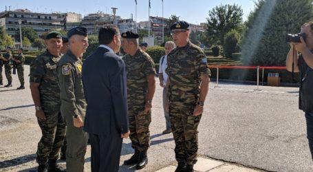 Έφθασε στην 1η Στρατιά ο υπουργός Εθνικής Άμυνας Παναγιωτόπουλος – Θα συμμετάσχει σε ενημέρωση (φωτό)