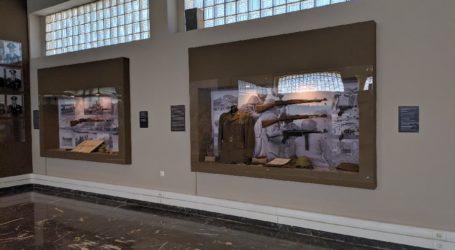 Την ανακαινισμένη αίθουσα τιμών στην 1η Στρατιά εγκαινίασε ο υπουργός Εθνικής Άμυνας Νίκος Παναγιωτόπουλος (φωτό)