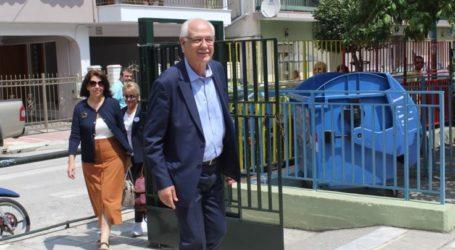 Συνάντηση Απ. Καλογιάννη με τους επικεφαλής των δημοτικών παρατάξεων