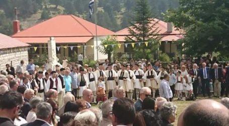 """Πλήθος Λαρισαίων στη Σαμαρίνα για τον """"Τσιάτσιο"""", τον """"τρανό χορό"""" (φωτογραφίες)"""