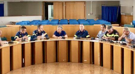 Έκτακτη συνεδρίαση του συντονιστικού Πολιτικής Προστασίας Θεσσαλίας λόγω επικινδυνότητας πυρκαγιών