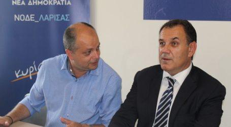 Νίκος Παναγιωτόπουλος από Λάρισα: «Σε ετοιμότητα οι ένοπλες δυνάμεις – Πόλος αξιοπιστίας η Ελλάδα» (φωτο)