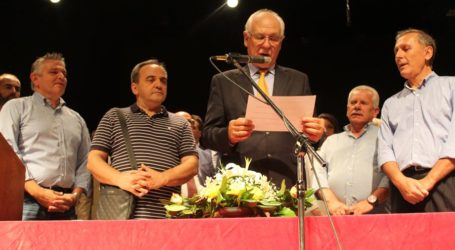 Αυτά είναι όλα τα μέλη του νέου Δημοτικού Συμβουλίου Λάρισας που ορκίστηκαν σήμερα – ΟΝΟΜΑΤΑ (φωτο-βίντεο)