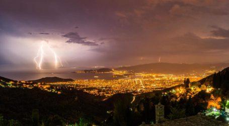Ρεκόρ κεραυνών στη Μαγνησία – Η πρόγνωση του καιρού για αύριο Παρασκευή