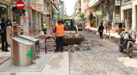 Παρατείνονται μέχρι αρχές Οκτωβρίου οι κυκλοφοριακές ρυθμίσεις στην Ασκληπιού λόγω έργων