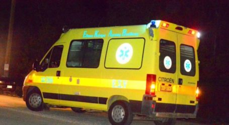 Τραυματισμός 26χρονου δικυκλιστή σε τροχαίο στην παλιά εθνική οδό Λάρισας – Βόλου
