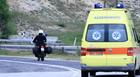 Τραυματίστηκε 26χρονος Βολιώτης σε τροχαίο ατύχημα στην Π.Ε.Ο. Βόλου – Λάρισας